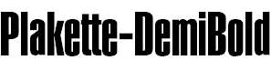 Plakette-DemiBold