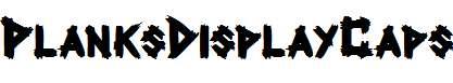 PlanksDisplayCaps-Bold