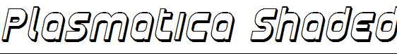 Plasmatica-Shaded-Italic
