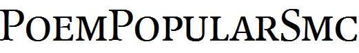 PoemPopularSmc-Regular