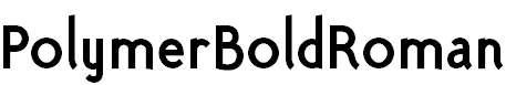 PolymerBoldRoman