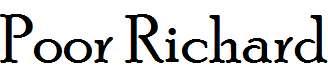 Poor-Richard