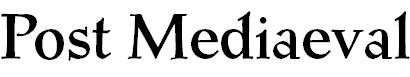 PostMediaeval-Medium