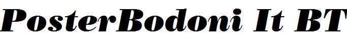 PosterBodoni-It-BT-Italic