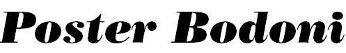PosterBodoniBT-Italic