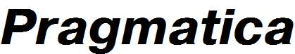 Pragmatica-Bold-Italic