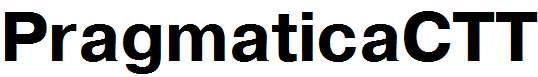 PragmaticaCTT-Bold