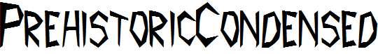 PrehistoricCondensed