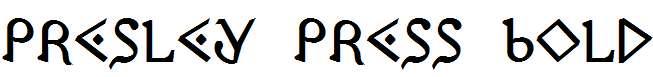 Presley-Press-Bold