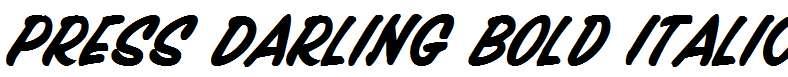 Press-Darling-Bold-Italic