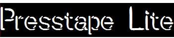 Presstape-Lite