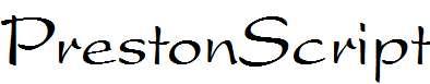 PrestonScript-Regular