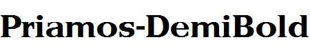 Priamos-DemiBold