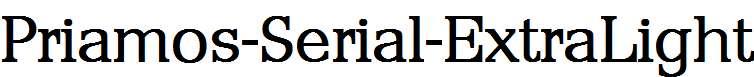 Priamos-Serial-ExtraLight-Regular