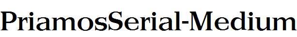 PriamosSerial-Medium-Regular