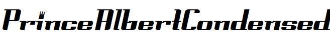 PrinceAlbertCondensed-Italic
