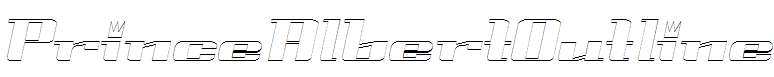 PrinceAlbertOutline-Italic