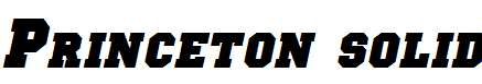 Princeton-solid-Italic