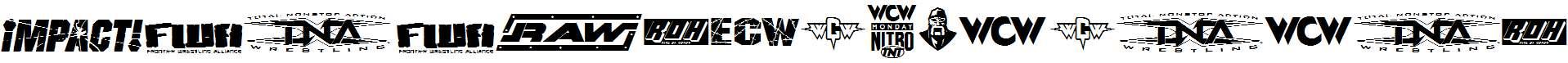 Pro-Wrestling-Logos