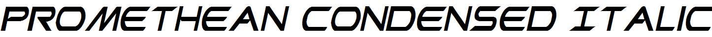 Promethean-Condensed-Italic