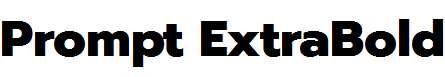 Prompt-ExtraBold