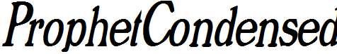 ProphetCondensed-Italic