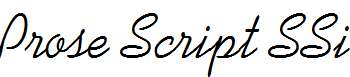 Prose-Script-SSi