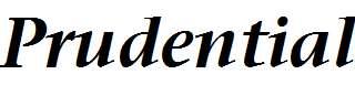 Prudential-Bold-Italic