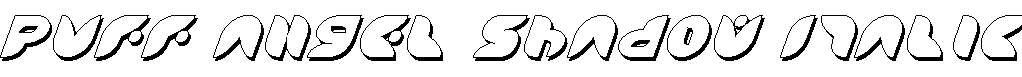 Puff-Angel-Shadow-Italic