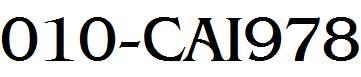 010-CAI978