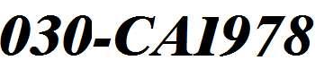 030-CAI978