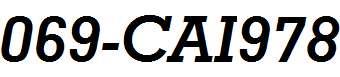 069-CAI978
