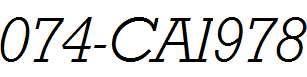074-CAI978