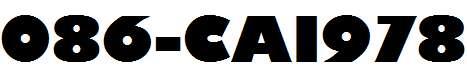086-CAI978