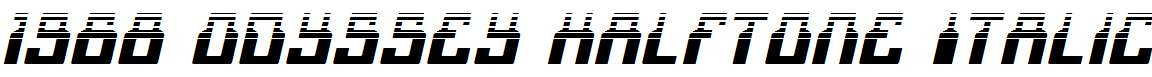 1968-Odyssey-Halftone-Italic