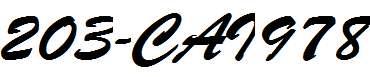 203-CAI978