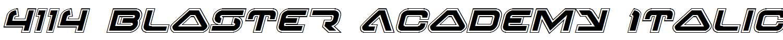 4114-Blaster-Academy-Italic