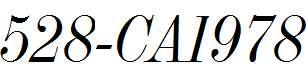 528-CAI978