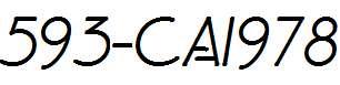 593-CAI978