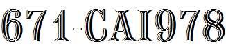671-CAI978