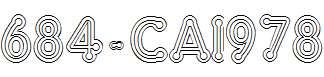 684-CAI978