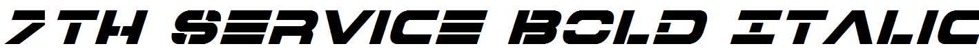 7th-Service-Bold-Italic