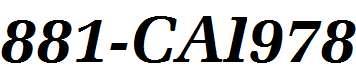 881-CAI978