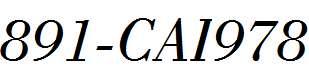 891-CAI978