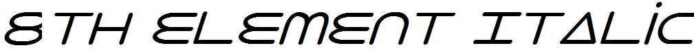 8th-Element-Italic