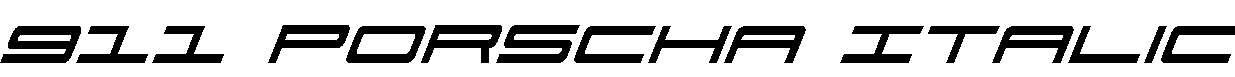 911-Porscha-Italic