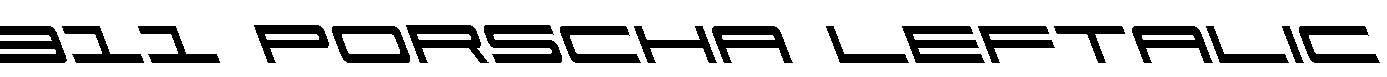911-Porscha-Leftalic
