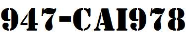 947-CAI978