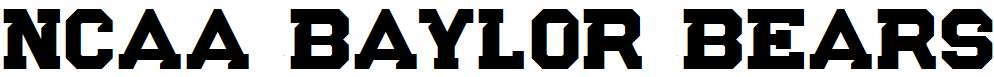 NCAA-Baylor-Bears