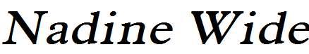 Nadine-Wide-Italic